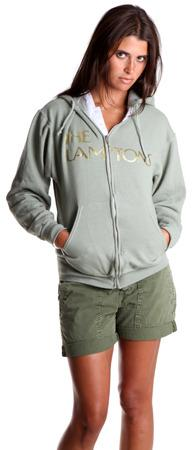 Blue&Cream Lamptons Hoody in Army
