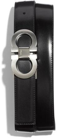 Salvatore Ferragamo Signature Ornament Reversible Belt
