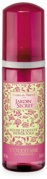 Roses et Reines Jardin Secret Shower Foam