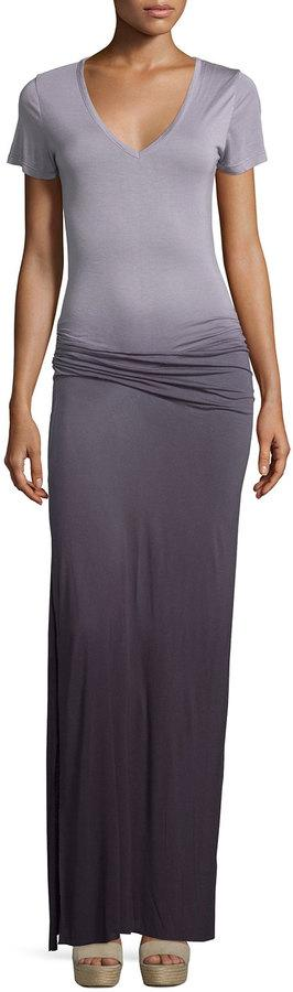 Young Fabulous and Broke Bentley Ombre Maxi Dress, Plum Ombre