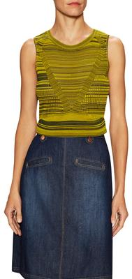 Mesh Mixed Stitch Top
