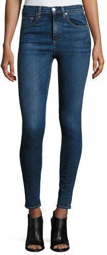 rag & bone/JEAN Dive High-Rise Skinny Jeans, Eddy
