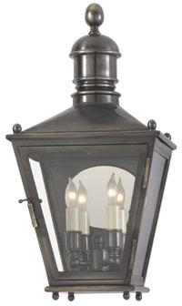 E.F. Chapman SMALL 3/4 WALL SUSSEX LANTERN