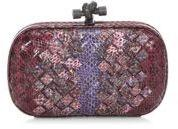 Bottega Veneta Multi Pebbled Woven Clutch