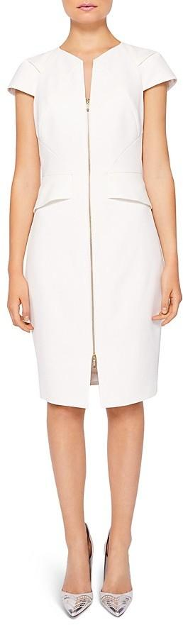Ted Baker Fearnid Zip-Front Dress