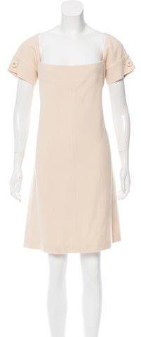 Bottega Veneta Wool Knee-Length Dress
