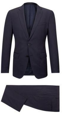 Hugo Boss Huge/Genius Slim Fit, Striped Wool Suit 42LBlue