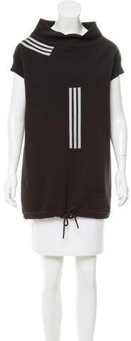 Y-3 x Adidas Sweatshirt Mini Dress