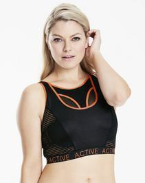 Naturlly Close High Impact Active Mesh Sports Bra