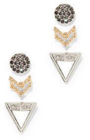3-Piece Post Earring Set