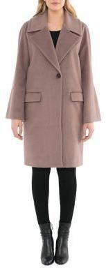 Badgley Mischka Bella Cocoon Coat