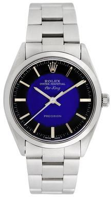 Vintage Rolex Unisex Stainless Steel Airking Watch, 34mm