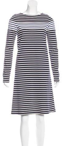 Derek Lam Striped T-Shirt Dress