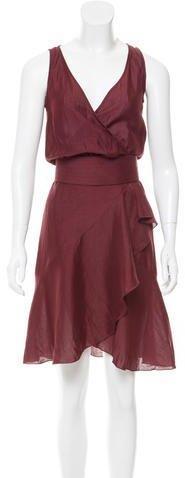 Valentino Sleeveless Knee-Length Dress