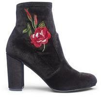 Sole Diva Carla Embroidered Boots Wide
