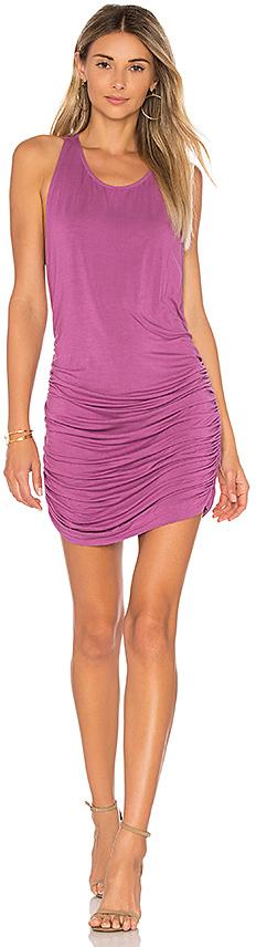 Young, Fabulous & Broke Rocky Dress in Fuchsia. - size L (also in M,S)