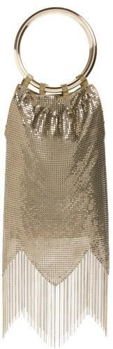 Whiting & Davis Rio Mesh Bracelet Bag - Metallic