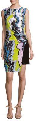 Abito Donna Patterned Wrap Dress