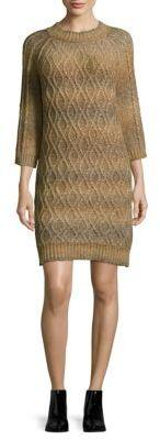 Three-Quarter Sleeves Knitted Dress