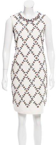 Erdem Embellished Shift Dress