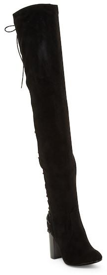 Chase & Chloe Addison Corset Over-the-Knee Boot