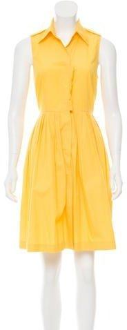 Vera Wang Lavender Label Sleeveless Knee-Length Dress