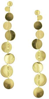 LANA Linear 9-Disc Drop Earrings