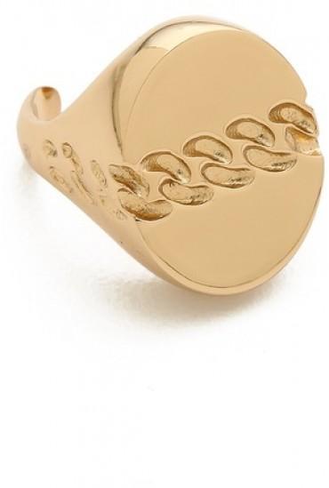 maison martin margiela gold ring trendylog. Black Bedroom Furniture Sets. Home Design Ideas
