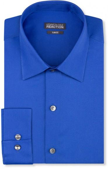 Kenneth Cole Reaction mens Technicole Slim Fit Tall Dress