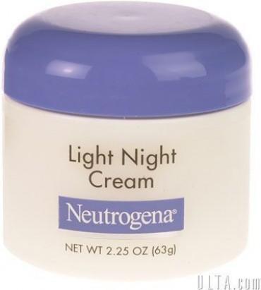 neutrogena light night cream neutrogena this night cream doubles the. Black Bedroom Furniture Sets. Home Design Ideas