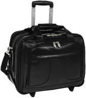 Mcklein luggage, chicago detachable-wheeled overnight briefcase