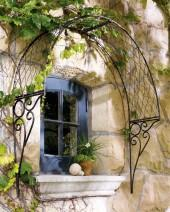 English Overdoor Trellis