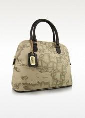 Alviero Martini 1A Classe 1a Prima Classe - Geo Printed Top Zip Handbag
