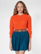 Silky Shirred Waist Skirt