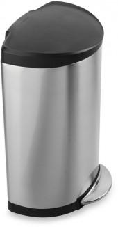 simplehuman® SmartbucketTM 40-Liter Semi-Round Step-On Trash Can