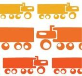 avalisa - Trucks Stretched Print