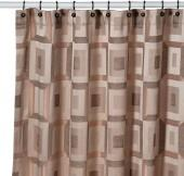Metro Bronze Shower Curtain by Croscill