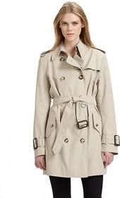 Burberry Brit Marystow Double Breasted Trenchcoat