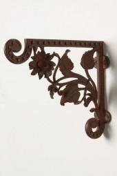 Carved Helianthus Bracket