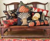 Autumn Hooked Pillows