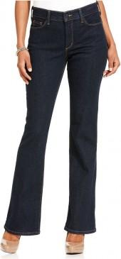 NYDJ Sarah Stretch Bootcut Jeans, Blue Black Wash