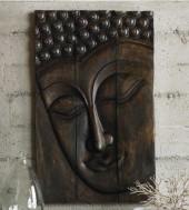 Serene Buddha Panel