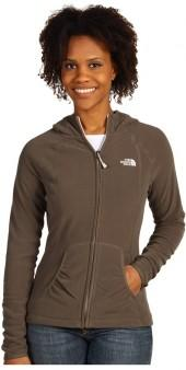 The North Face - TKA 100 Texture Masonic L/S Hoodie (Weimaraner Brown) - Apparel