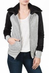 19 4T Zippered Hoodie Sweatshirt Charcoal