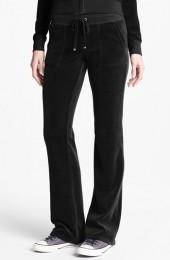 Juicy Couture Velour Pocket Pants (Online Only)