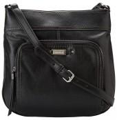 Nine West - Heavy Hitter Large Crossbody (Black) - Bags and Luggage