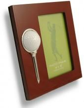 Budd Leather Golf Picture Frame