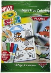 crayola color wonder coloring book markers pixar planes - Color Wonder Coloring Books