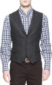 Brunello Cucinelli Four-Button Waistcoat
