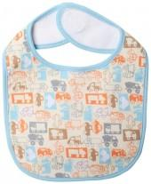 Zutano Trucks Bib (Baby) - Cream-One Size